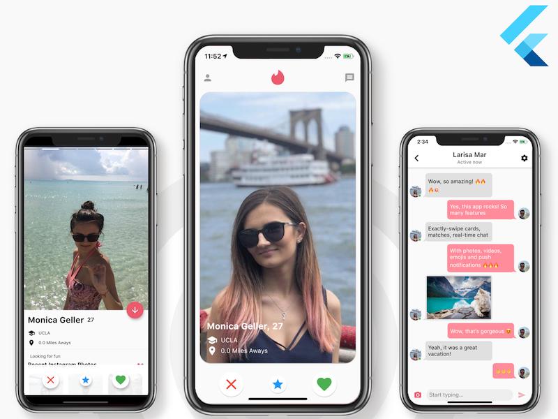 flutter dating app templates