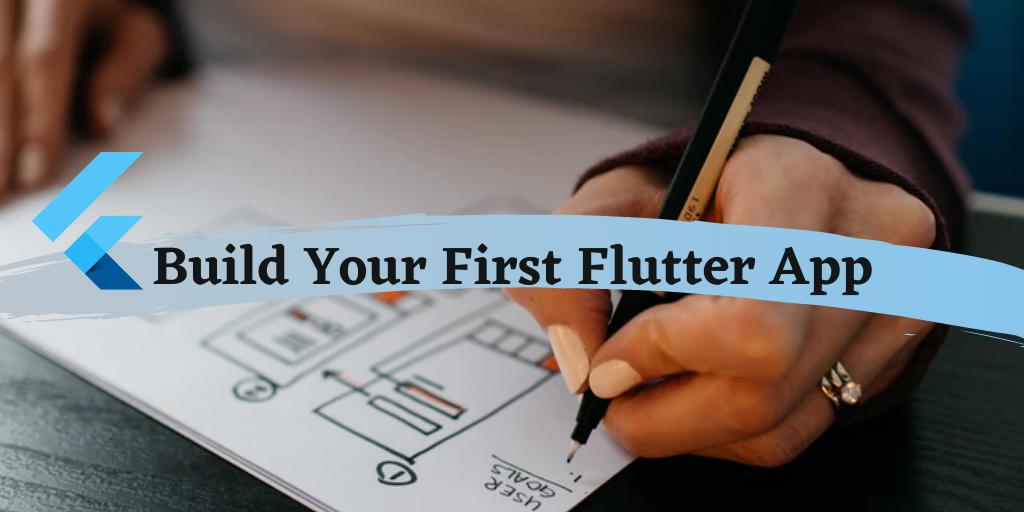 create flutter app