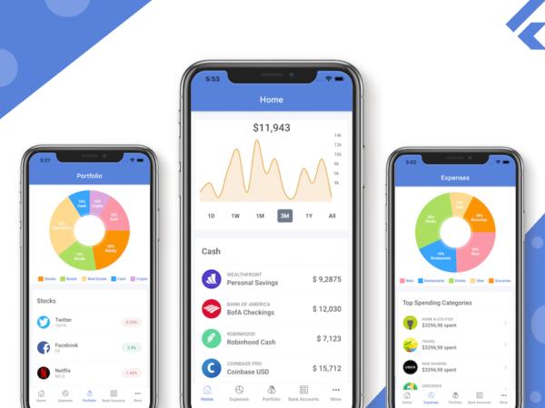 flutter finance app template